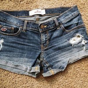 Juniors Hollister Shorts